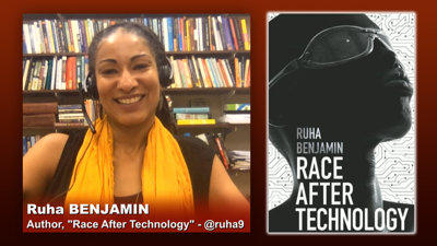 Cover art for Triangulation 418: Ruha Benjamin: Race After Technology - Abolitionist Tools for the New Jim Code