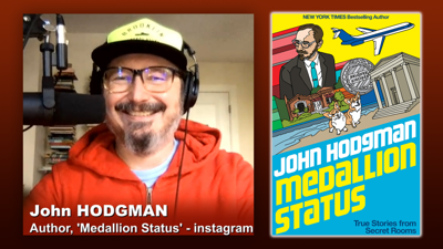 Cover art for Triangulation 421: John Hodgman: Medallion Status - True Stories and Complimentary Upgrades