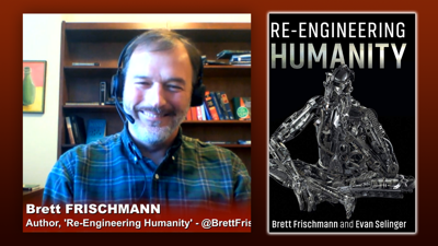 Cover art for Triangulation 422: Brett Frischmann: Re-Engineering Humanity - Techno-social engineering and how technology threatens the future of our society.