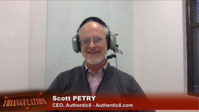 Cover art for Triangulation 423: Scott Petry, CEO of Authentic8