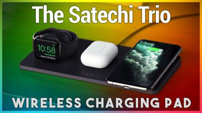 Cover art for HOI 22: My Favorite Wireless Charging Pad for iPhone - Want a Way to Charge Your iPhone, Apple Watch, and AirPods All at Once? The Satechi Trio Wireless Charging Pad Does That!
