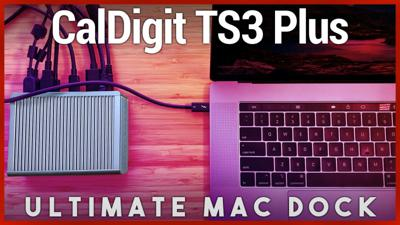 Cover art for CalDigit TS3 Plus Review - Best MacBook Pro Dock with USB-C Thunderbolt 3