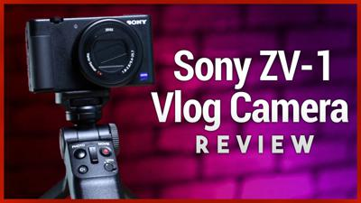 Cover art for Sony ZV-1 Review - Vlogging Camera for Content Creators