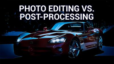 HOP 39: What's the Difference? - Photo Editing versus Post-Processing