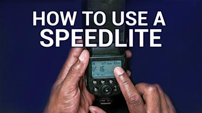 HOP 40: Flash Photography Lesson - How To Use A Speedlite