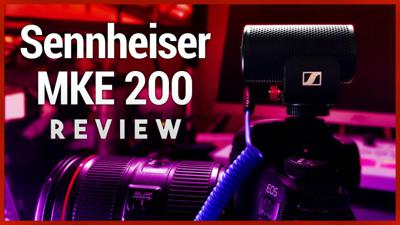 Cover art for Sennheiser MKE 200 Review - Affordable Compact Vlogging Mic