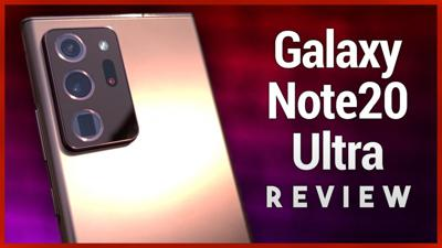 Cover art for Galaxy Note20 Ultra Review - Samsung Flexes When Times Say Chill