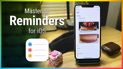 Cover art for Hands-On iOS 32: Reminders for iOS