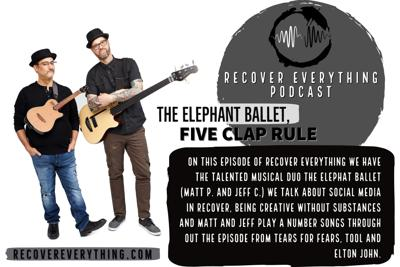 Cover art for The Elephant Ballet, Five Clap Rule