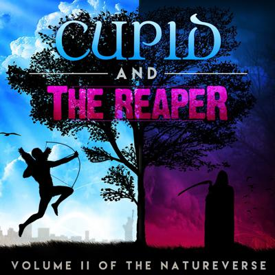 "Becoming Mother Nature introduced us to troubled 13-year-old Chloe Lovejoy, who prematurely inherited the mantle and awesome power of Mother Nature from her Grandmother Ivy. In season one, Chloe struggled mightily to balance the trials and tribulations of middle school with...you know, saving the world. With Cupid and the Reaper, Volume II of ""The Natureverse,"" Chloe will soon learn she's not the only superpowered teenager in the world.  Meet thirteen-year-old Mondo Ramirez, a hopeless romantic in Savannah, Georgia, who rarely thinks of consequences. When his elaborate 8th grade promposal goes awry, Mondo accidentally kills the Grim Reaper, inheriting the Reaper's cloak and scythe in the process. Marcus Aronson never accepted or understood his parents' divorce. Logical and socially challenged, Marcus went on a mission to find Cupid himself, and finally convinced the winged archer him to hand over his arrows and his title. Armed with research, algorithms and a huge pair of wings, Marcus is determined to change the way people fall in love.  Cupid and The Reaper, Volume II of the ""Natureverse,"" tells the buddy-adventure story of these two mismatched and unlikely heroes. Can Marcus and Mondo learn to work together and harness the powers of life, death and love to fight off a mysterious supernatural force intheir school? And will Chloe see them as friends...or foes?  Rezilience LTD, in partnership with Gen-Z Media and PRX presents, The Rez. Find out more at"