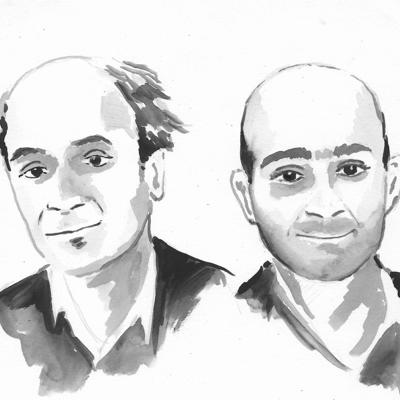Cover art for Mohsin Hamid & Pico Iyer