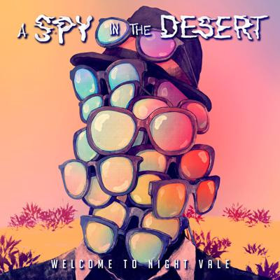 Cover art for A Spy in the Desert – Out today!