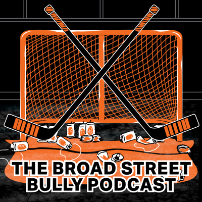 The Broad Street Bully Podcast combines Flyers talk with enough banter that makes it seem like you're hanging out with some friends watching the game. This weekly uncensored podcast brings together comedian Drew Pabhsky, resident statistician Jeff, and Diabetic Doyle to share their opinions on the Philadelphia Flyers, anecdotes from their every day lives, and enough debauchery that you'll want to listen with headphones. Whether it's the three of them, or them with additional guests who share their love of the orange and black, this podcast is not your typical terrestrial radio show. If you like drinking some beers and talking about your favorite team, hit subscribe and start listening to The Broad Street Bully Podcast.T