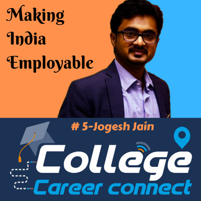 Cover art for #5. Making India Employable-Jogesh Jain