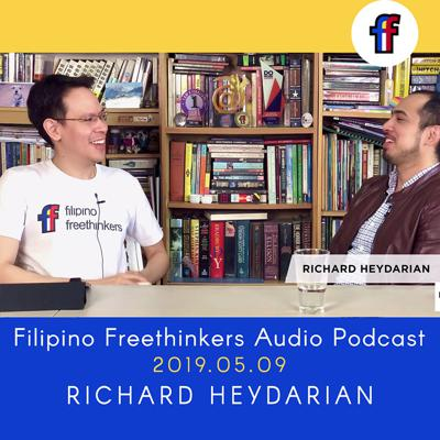 Cover art for THE MEETUP : Richard Heydarian on Politicon and Duterte's dealings with China [2019.05.09]