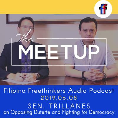 Cover art for THE MEETUP : Senator Trillanes on Opposing Duterte and Fighting for Democracy [2018.06.08]