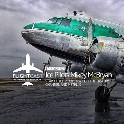 Cover art for Episode 57 – Ice Pilots Mikey McBryan