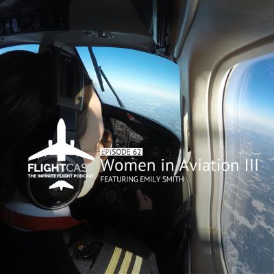 Cover art for Episode 62 – Women in Aviation Part 3