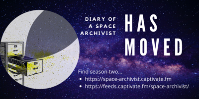Cover art for Diary of a Space Archivist: season two trailer