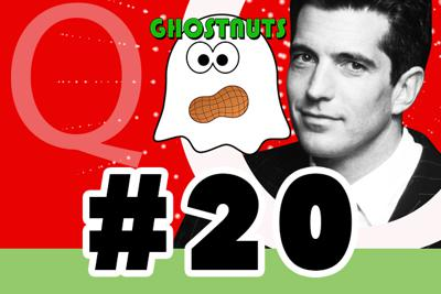 Cover art for #20 – JFK Jr ties to Qanon, Donald Trump and Vincent Fusca