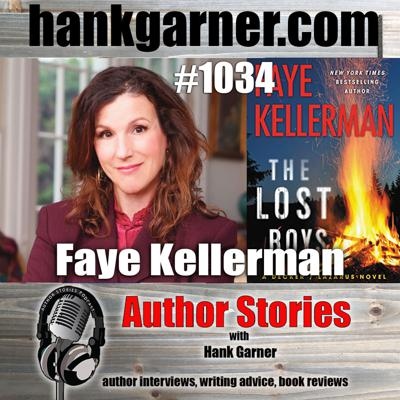 Cover art for Author Stories Podcast Episode 1034 | Faye Kellerman Interview