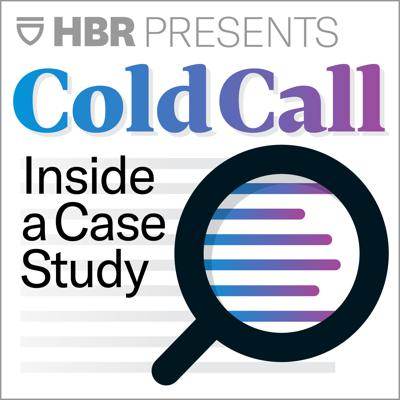 Cold Call distills Harvard Business School's legendary case studies into podcast form. Hosted by Brian Kenny, the podcast airs every two weeks and features Harvard Business School faculty discussing cases they've written and the lessons they impart.