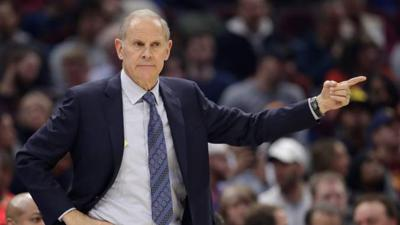 Cover art for John Beilein Steps Down, Assigned Different Role