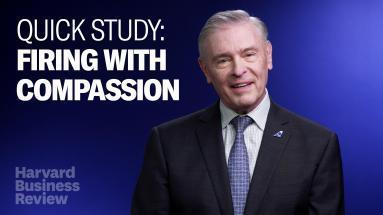Cover art for Quick Study: How to Fire with Compassion