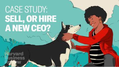 Cover art for Should You Sell Your Startup, or Find a New CEO? (Case Study)