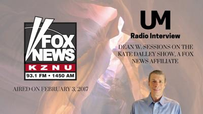 Cover art for UM Radio Interview With Dean W. Sessions on the Kate Dalley Show