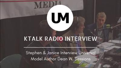 Cover art for KTALK Interview With Author Dean W. Sessions