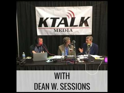 Cover art for KTALK Radio Interview with Dean W. Sessions