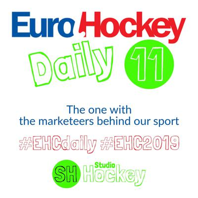 Cover art for #EHCdaily 11 – The one with the marketeers behind our sport