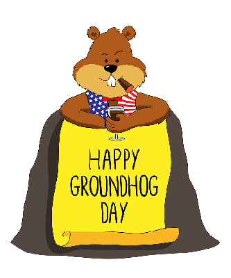 Cover art for Groundhog Minute 100 – One Day in a Place Can Change You
