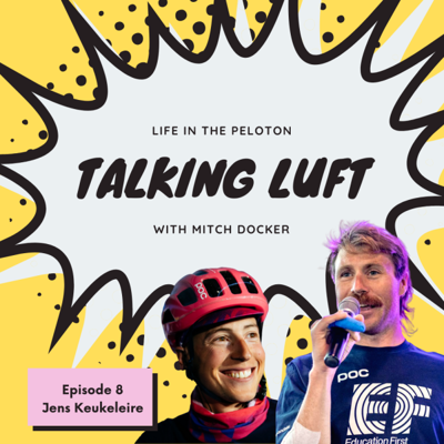 Cover art for Talking Luft! with Jens Keukeleire. Ep 8.