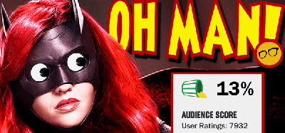 Cover art for Batwoman's 13% Rotten Tomatoes Audience Score Proves HERoric Hollywood has FAILED Again