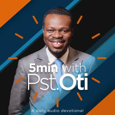 Cover art for 18th September 2020 – The Prayers Of A Priest 8 – 5 Mins with Pastor Oti (Love Economy)
