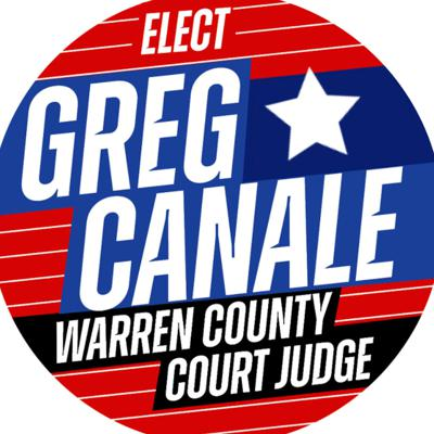 Greg Canale is running for the position of County Judge in Warren County, NY.  More info at www.canale2020.com
