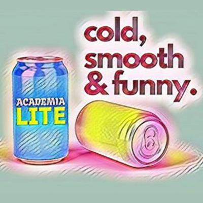 Academia - but lite! We examine two published pieces of academic work in each episode, focusing on the irregular, the surprising and the downright funny. Website: academialite.com Twitter: @academialite Facebook: Academia Lite Instagram: academialite Email: Hello@academialite.com