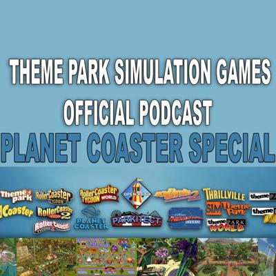 Cover art for Theme Park Simulation Games Podcast - Planet Coaster Special (EGX Rezzed)