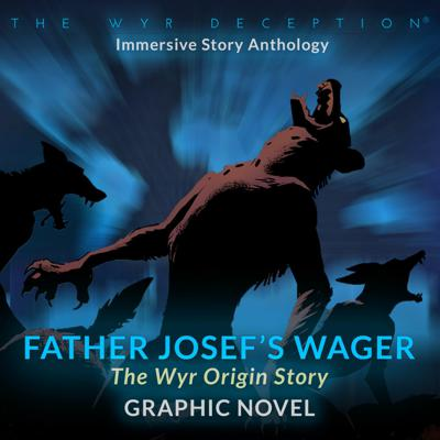 Cover art for Father Josef's Wager - Graphic Novella Score