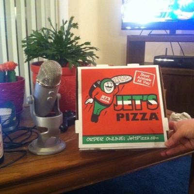 Cover art for Rawcast 14 Jet's Pizza & Prop Bets
