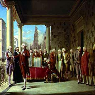 Cover art for George Washington's First Presidential Inaugural Address