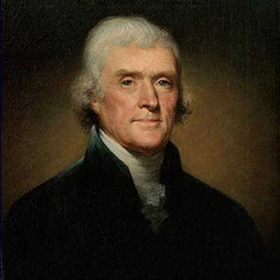 Cover art for Thomas Jefferson's First Presidential Inaugural Address