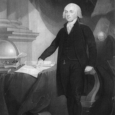Cover art for James Madison's First Presidential Inaugural Address