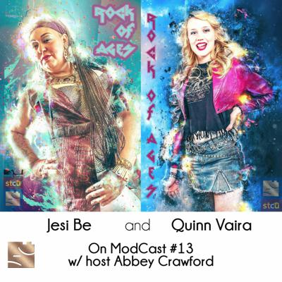 Cover art for ModCast 13 - w\ Jesi Be and Quinn Vaira