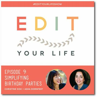 Cover art for Episode 9: Simplifying Birthday Parties