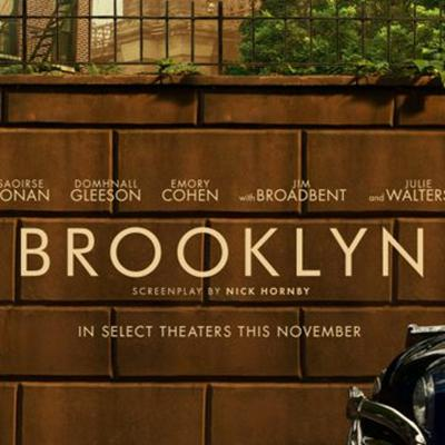 Cover art for Review: Brooklyn, the book and film