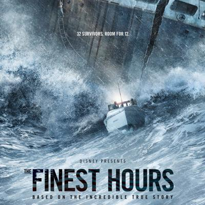 Cover art for The Finest Hours (not w/o Charles Haines, unfortunately)