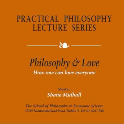 Cover art for Philosophy & Unconditional Love